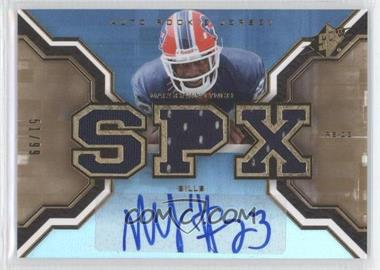2007 SPx Rookies Gold #223 - Marshawn Lynch /99