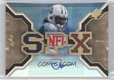 2007 SPx Rookies NFL Logo Patch Autographs [Autographed] [Memorabilia] #197 - Chris Henry /1