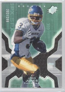 2007 SPx Rookies Silver Holofoil #142 - James Jones /299