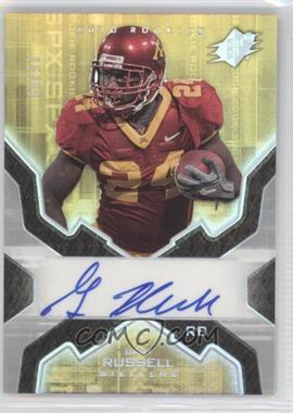 2007 SPx Rookies Silver Holofoil #188 - Gary Russell /99