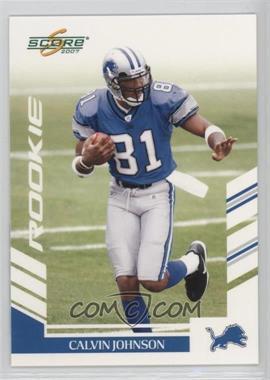 2007 Score #351 - Calvin Johnson