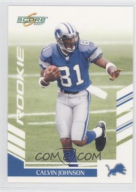 2007 Score #351 - Calvin Johnson