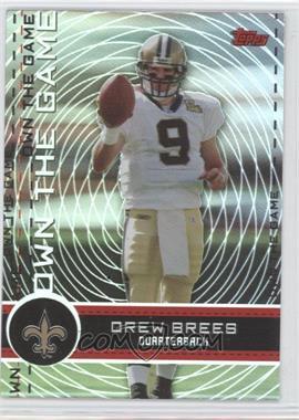 2007 Topps - Own the Game #OTG-DB - Drew Brees