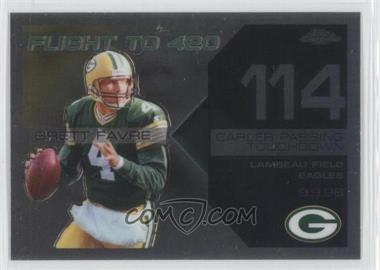 2007 Topps Chrome Multi-Year Issue Brett Favre Flight to 420 #BFC-BF114 - Brett Favre