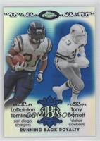 LaDainian Tomlinson, Tony Dorsett /50