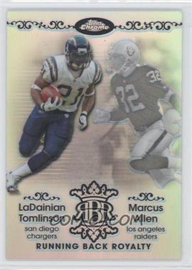 2007 Topps Chrome Running Back Royalty Refractor #RBRD-TA - Marcus Allen /199