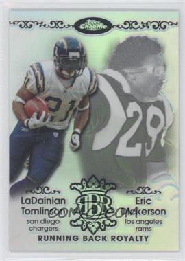 2007 Topps Chrome Running Back Royalty Refractor #RBRD-TD - Eric Dickerson /199