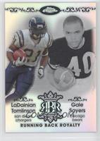LaDainian Tomlinson, Garrison Sanborn, Gale Sayers /199