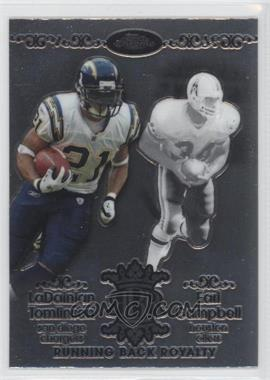 2007 Topps Chrome Running Back Royalty #RBRD-TC - LaDainian Tomlinson, Earl Campbell