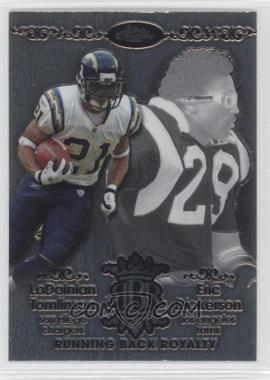 2007 Topps Chrome Running Back Royalty #RBRD-TD - LaDainian Tomlinson, Eric Dickerson