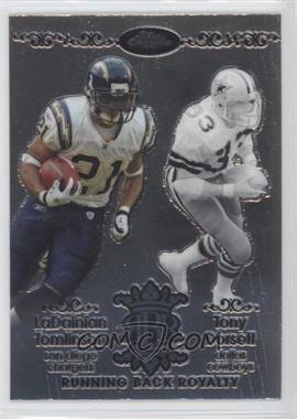 2007 Topps Chrome Running Back Royalty #RBRD-TDO - LaDainian Tomlinson, Tony Dorsett