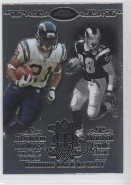 2007 Topps Chrome Running Back Royalty #RBRD-TF - Marshall Faulk, LaDainian Tomlinson