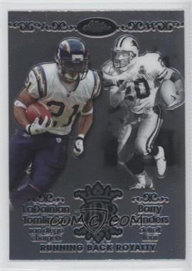2007 Topps Chrome Running Back Royalty #RBRD-TS - Barry Sanders, LaDainian Tomlinson