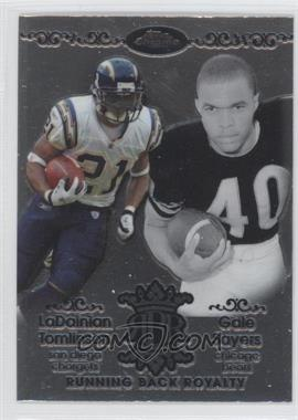 2007 Topps Chrome Running Back Royalty #RBRD-TSA - LaDainian Tomlinson, Gale Sayers
