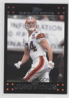 2007 Topps Cleveland Browns - [Base] #4 - Joe Jurevicius