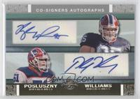 Kyle Williams, Paul Posluszny /25