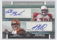 Leon Hall, Alan Branch