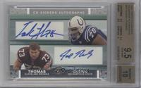 Tarik Glenn, Joe Thomas [BGS 9.5]