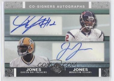 2007 Topps Co-Signers Dual Autographs #CSA-JJO - Jacoby Jones, James Jones