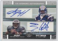 Antonio Pittman, Tony Hunt