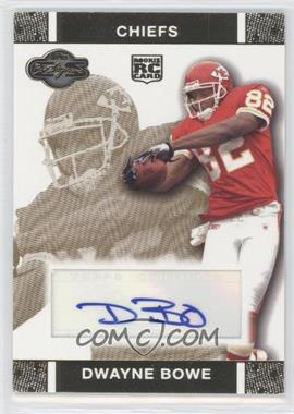 2007 Topps Co-Signers Rookie Autographs Gold #RA-DB - Dwayne Bowe /25