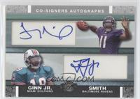 Troy Smith, Ted Ginn Jr. /50