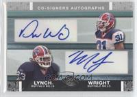Dwayne Wright, Marshawn Lynch /50