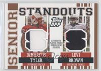 DeMarcus Tyler, Levi Brown /49