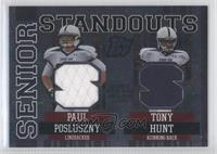 Paul Posluszny, Tony Hunt /35