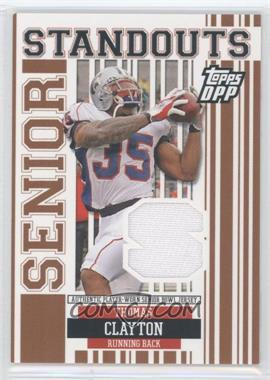 2007 Topps Draft Picks and Prospects (DPP) Senior Standouts Senior Bowl Relics #SS-TCL - Thomas Clayton