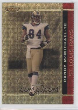2007 Topps Finest - [Base] - Die-Cut Superfractor #88 - Randy McMichael /1