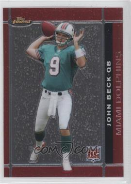 2007 Topps Finest - [Base] #103 - John Beck