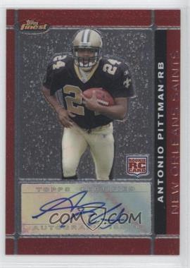 2007 Topps Finest Rookie Autographs [Autographed] #120 - [Missing]
