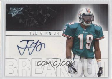 2007 Topps Performance Breakout Autographs #BA-TG - Ted Ginn