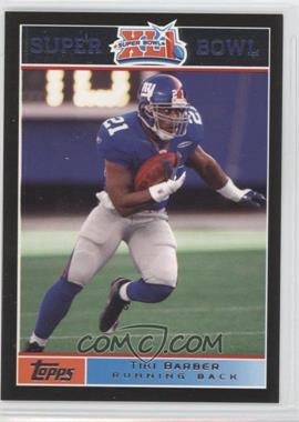 2007 Topps Super Bowl XLI - [Base] - Black #11 - Tim King /199