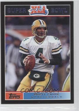 2007 Topps Super Bowl XLI Black #10 - Brett Favre /199