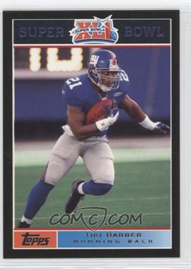 2007 Topps Super Bowl XLI Black #11 - Tim King /199