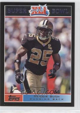 2007 Topps Super Bowl XLI Black #14 - Reggie Bush /199