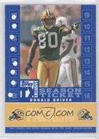Donald Driver /399