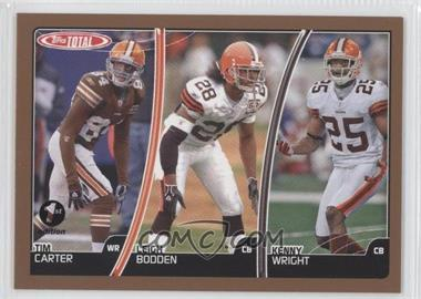 2007 Topps Total 1st Edition #22 - Tim Carter, Leigh Bodden, Kenny Wright