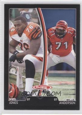 2007 Topps Total Black #111 - Levi Jones, Willie Anderson /50