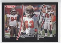 Greg Spires, Kevin Carter, Chris Hovan /50