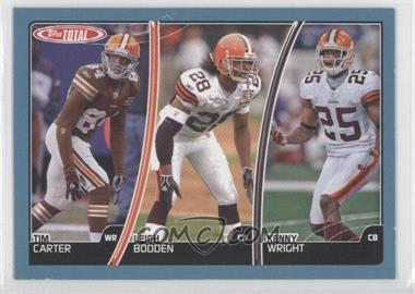 2007 Topps Total Blue #22 - Tim Carter, Leigh Bodden, Kenny Wright
