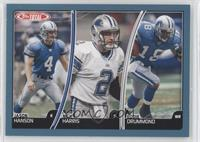 Jason Hanson, Nick Harris, Eddie Drummond