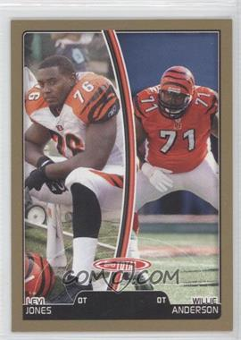 2007 Topps Total Gold #111 - Levi Jones, Willie Anderson