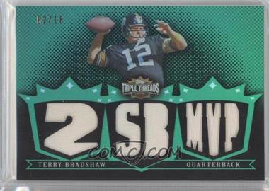 2007 Topps Triple Threads - Relics - Emerald #TTR56 - Terry Bradshaw /18
