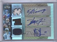 Eli Manning, Brady Quinn, Vince Young /27