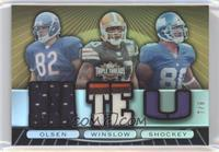 Greg Olsen, Kellen Winslow, Jeremy Shockey /9