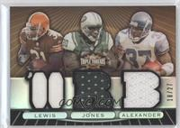 Jamal Lewis, Thomas Jones, Shaun Alexander /27