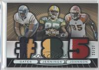 Greg Jennings, Antonio Gates, Chad Johnson /27